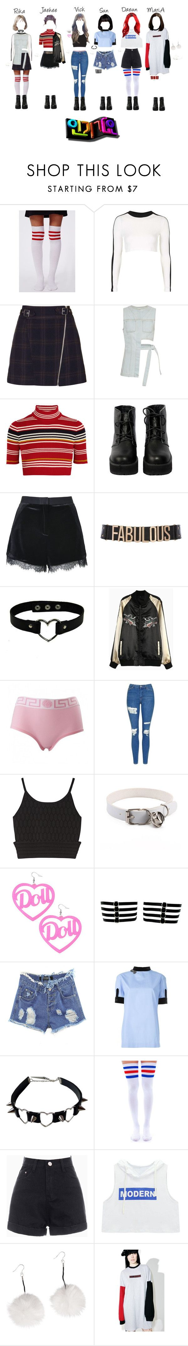 """《Comeback Special》StarZ - Move On @Inkigayo"" by starz-official ❤ liked on Polyvore featuring Missguided, Topshop, Acne Studios, Alessandra Rich, The WhitePepper, River Island, Jonathan Simkhai, N°21, Leg Avenue and Chicnova Fashion"