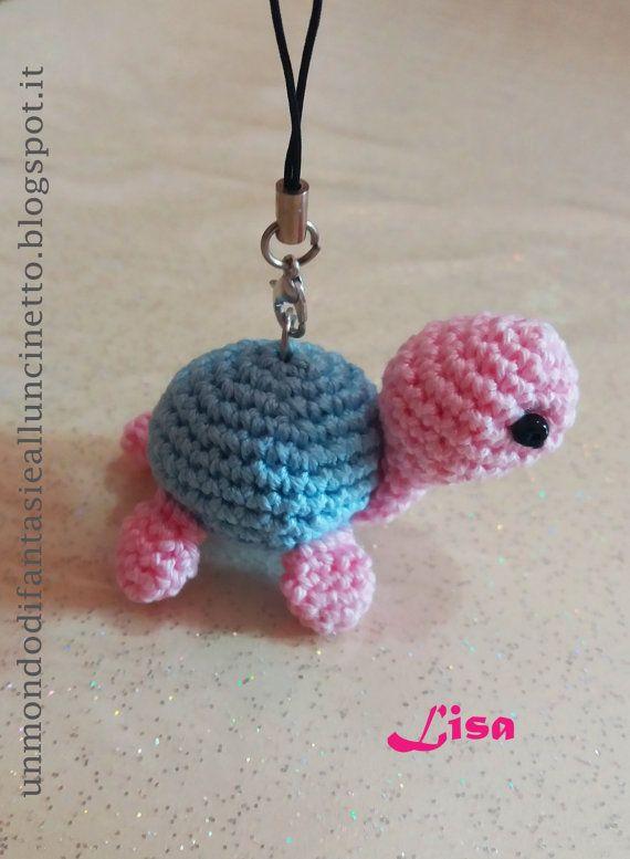 Ehi, ho trovato questa fantastica inserzione di Etsy su https://www.etsy.com/it/listing/469098978/mini-tartaruga-uncinetto-amigurumi