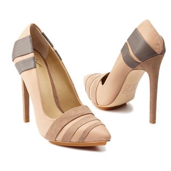 New Gwen Stefani pump/ heels nude shoes Brand new! It comes with the box GX by Geen Stefani Shoes Heels