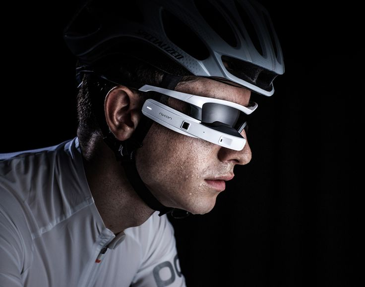 JET sports smart-glasses created by recon instruments and woke design - designboom | architecture
