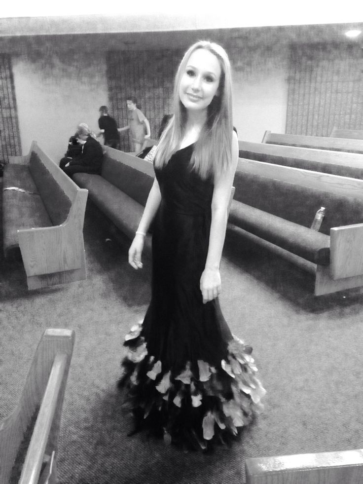 Babette(me) in the school play