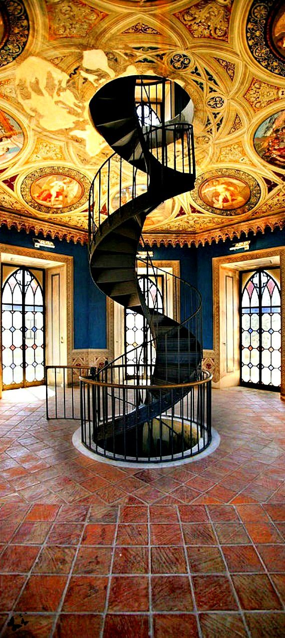 Spiral Staircase, Umbria, Italy