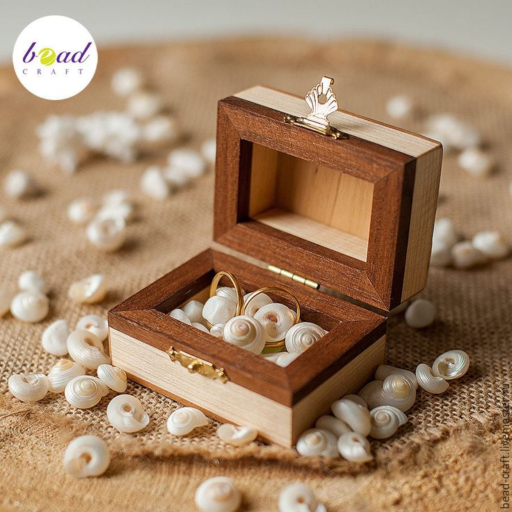 Buy jewelry box for rings on Livemaster online shop