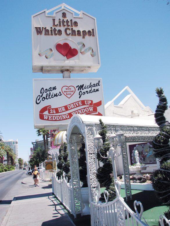My wedding at A Little White Wedding Chapel - Las Vegas Blog | Mitzie Mee