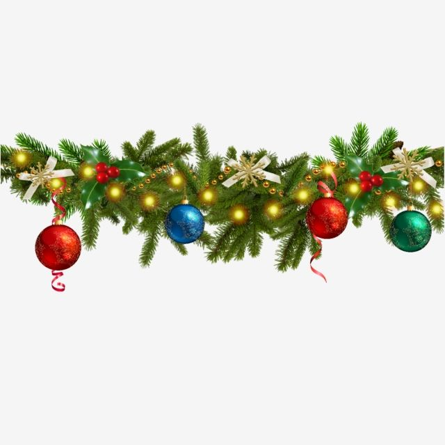 Christmas Decoration Pine Branches Garland Clipart Christmas Decoration Png And Vector With Transparent Background For Free Download Christmas Decorations Branch Vector Christmas Vectors