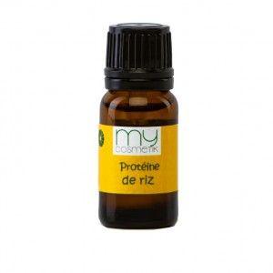 Améliorez votre shampooing du commerce en 30 secondes !! Plus de facilité démêlage, au coiffage et surtout plus de volume et de brillance !!!  Pour 100 ml de shampping: Ajoutez 2 ml de phytokératine + 1 ml de protéine de riz. Les protéines de riz sont un actif particulièrement intéressant dans les soins capillaires, où elles jouent un rôle fortifiant et volumateur. Elles maintiennent l'hydratation des cheveux et facilitent le coiffage.