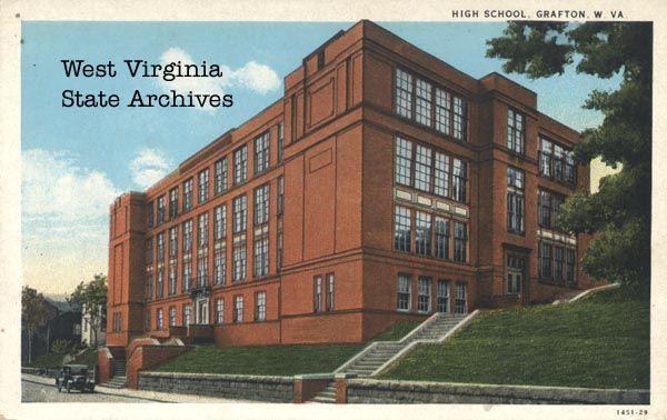 Taylor County WV Genealoy | Photographs of Schools