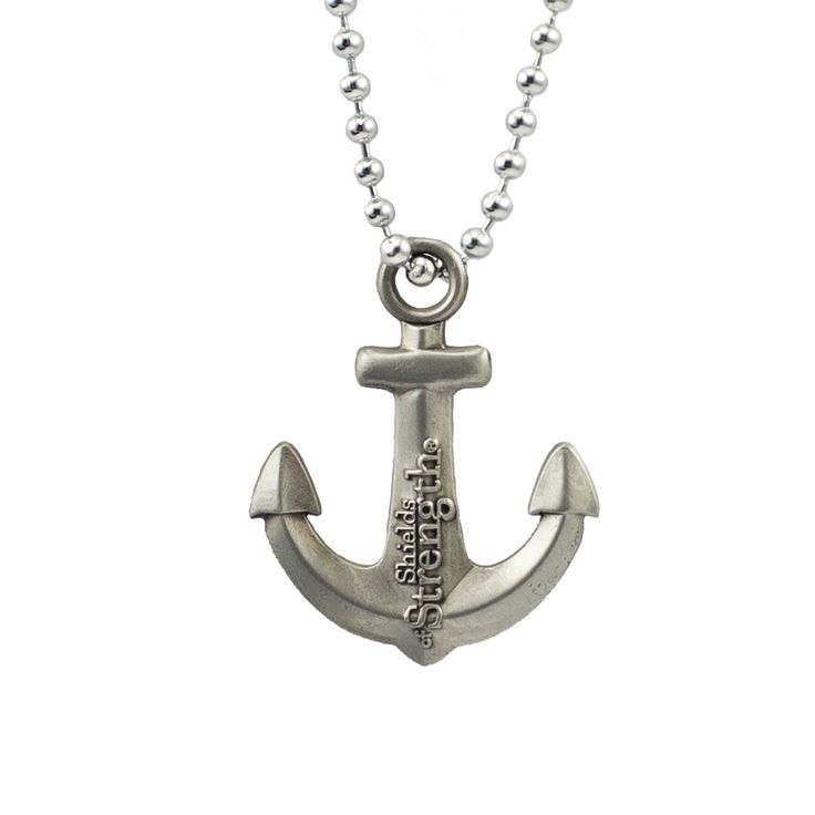 Shields of Strength - Anchor Pendant Antique Silver Necklace-Hebrews 6:19, $11.99 (https://www.shieldsofstrength.com/anchor-pendant-antique-silver-necklace-hebrews-6-19/)