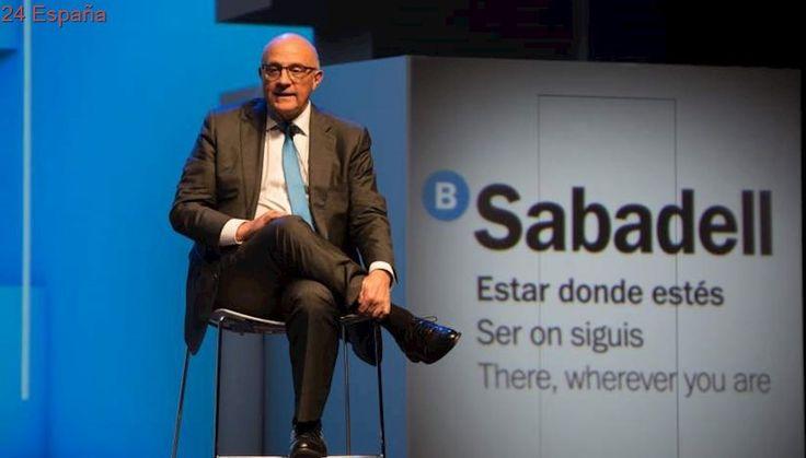 Banco Sabadell presenta los resultados en Madrid: gana 653,8 millones hasta septiembre, un 1,1% más