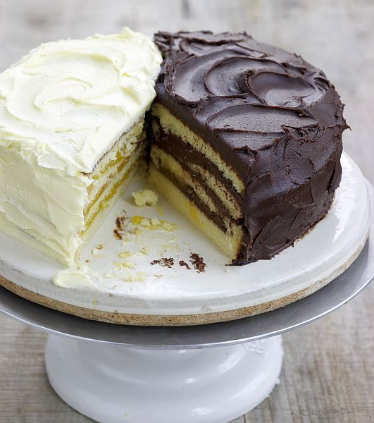 Doberge cake is actually a riff on Hungarian Dobos Torte and is considered THE birthday cake in New Orleans.