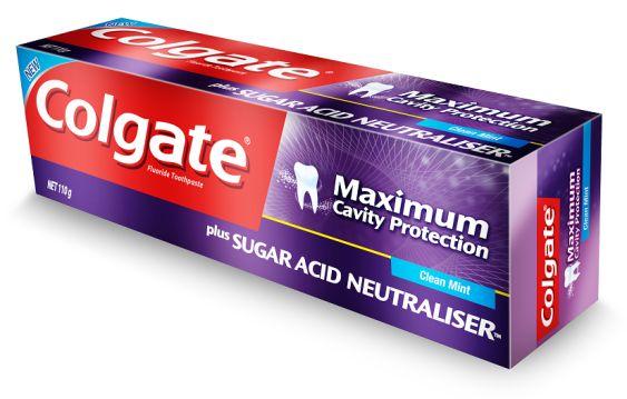 Oral Care : Colgate Toothpaste - Maximum Cavity Protection Plus Sugar acid Neutralizer