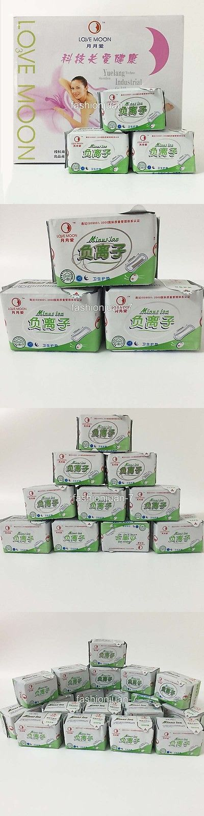 Sanitary Napkins: 19Packages/Lot Winalite Lovemoon/Sanitary Napkin Pads Panty Liners 30Pcs/Pack BUY IT NOW ONLY: $74.85