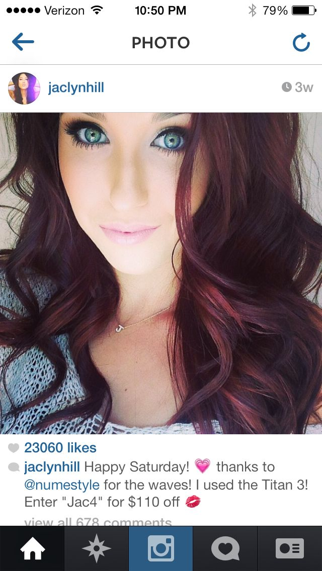 Jaclyn Hill's Instagram-Hair inspiration