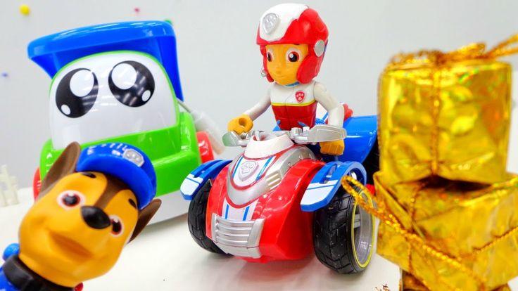 Видео для детей с игрушками из мультфильма «Щенячий Патруль». Пропавшая ...