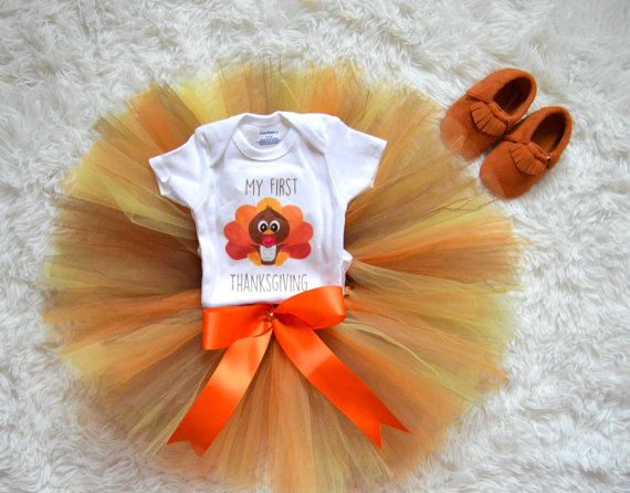 3 piece My First Thanksgiving Outfit First by MMFDiamondBaby