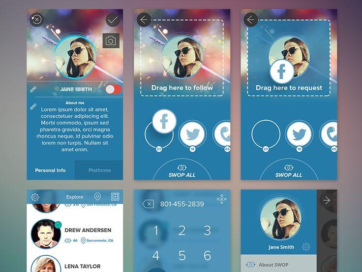 SWOP iPhone app by Drew Andersen