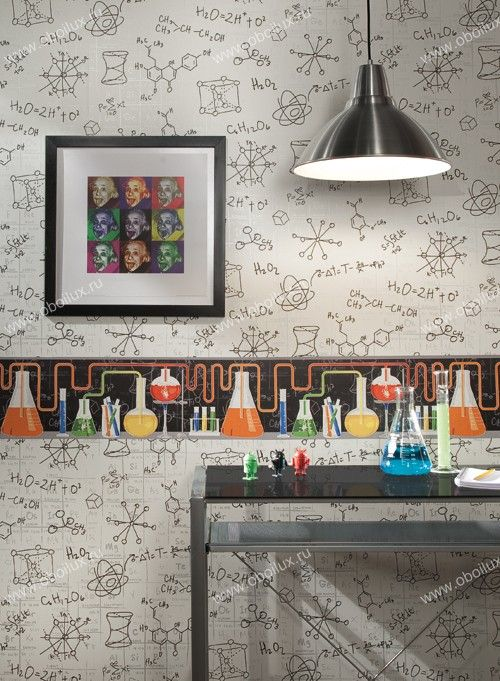 Laboratory Room Design: Американские обои York, коллекция Boy's World, артикул