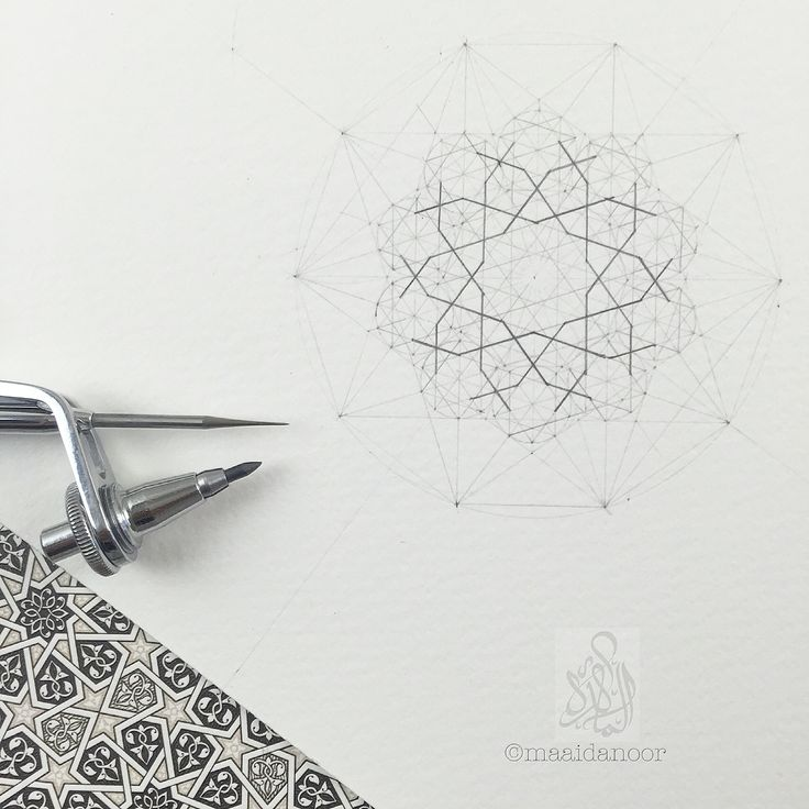 Islamic geometry - ©maaidanoor