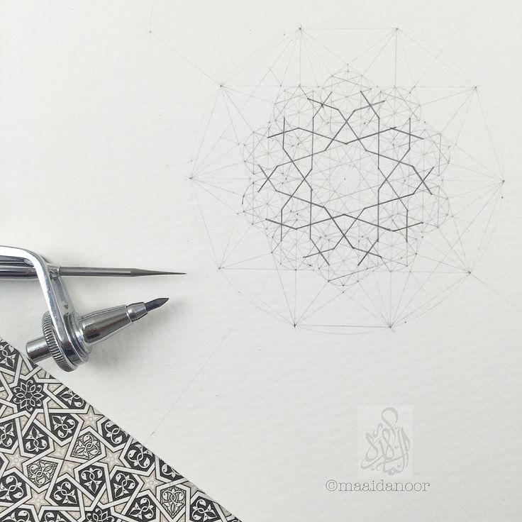 Islamic geometry - ©maaidanoor