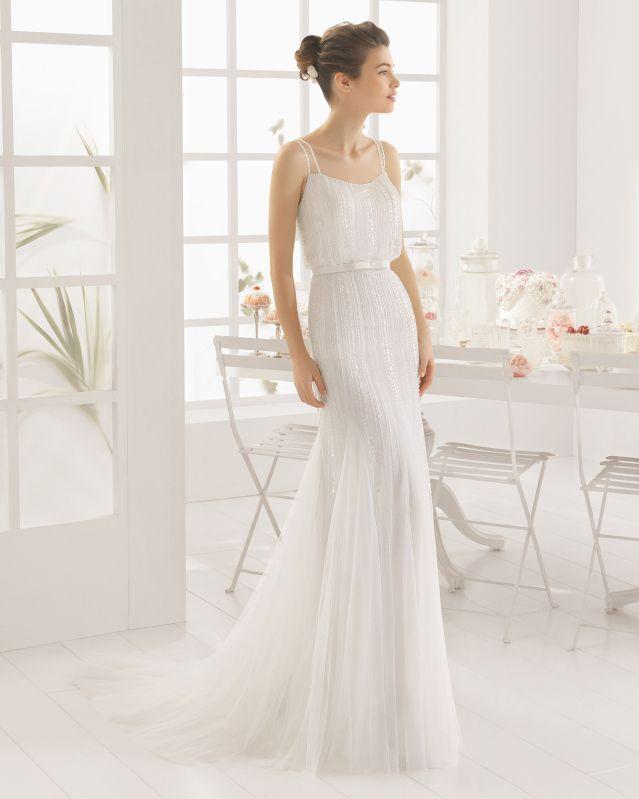 MABEL vestido de novia de Aire Barcelona 2016