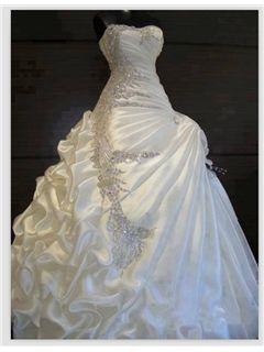 Exquisite Ball Gown Sweetheart Ruffles Beading Wedding Dress $309.39~3/9/15