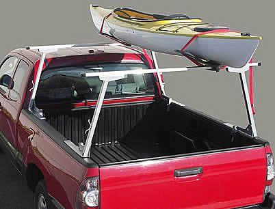 Paddler S Truck Rack With Kayak Kayak Fishing