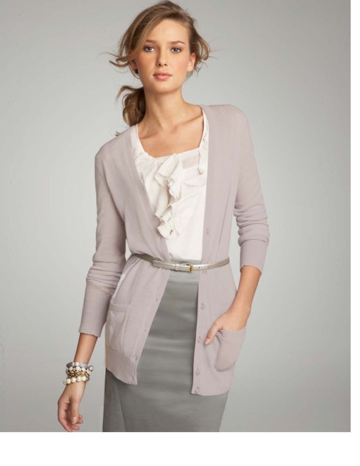 Great outfit for work! Absolutely adorable! I'm still LuViN the belted cardigan!
