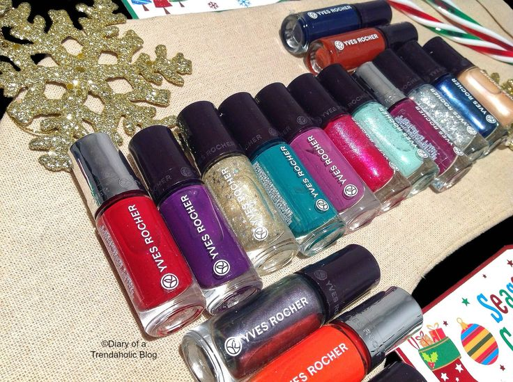 Gorgeous Botanical based nail polish from Yves Rocher! There are more than 50 vibrant hues & they make fabulous stocking stuffers!