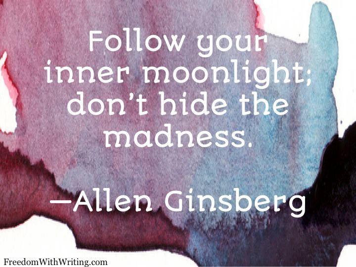 Allen Ginsberg Not proud right now