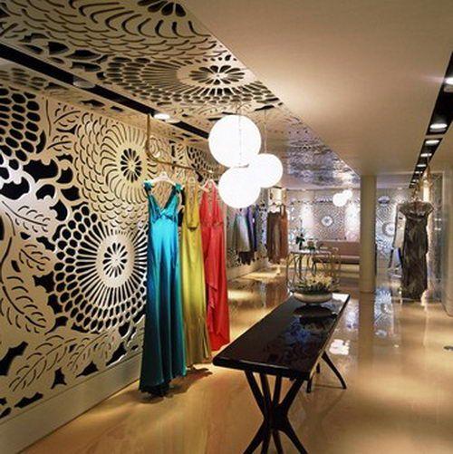 Vakko Couture The Elegant Boutique Design By Autobahn DesignFloral Interior