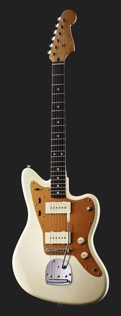 Fender Squier J.Mascis Jazzmaster (vintage white)