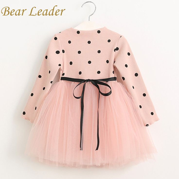 Casual Children Clothing Ball Gown Dot Print Kids Clothes Princess Dress Oh Yeah Visit us