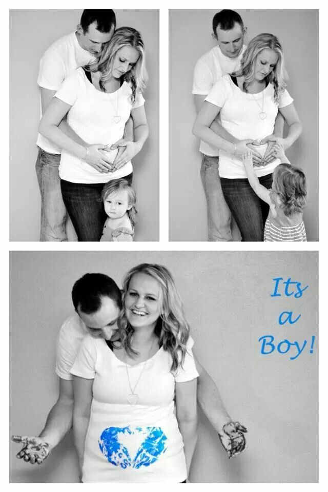 Great gender reveal pictures!