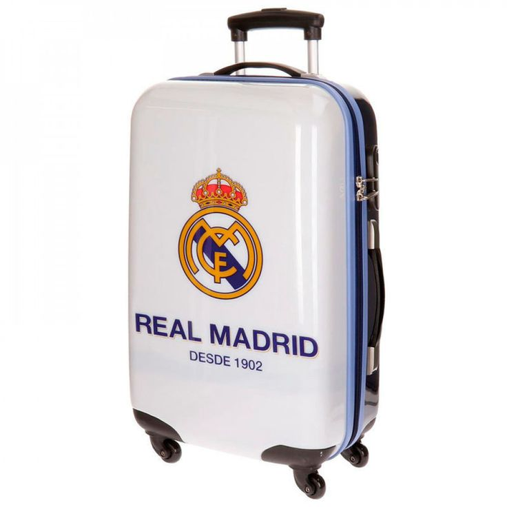 Chariot valise Real Madrid rigide 67cm 4 roues abs €144.90
