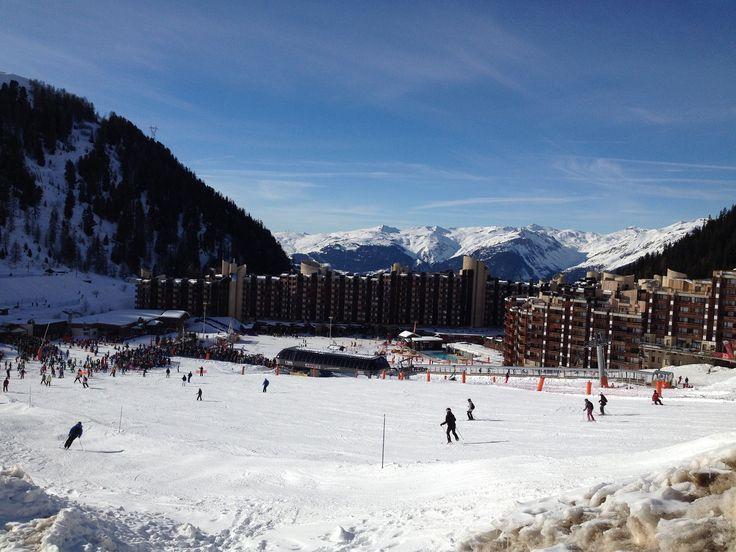 Les joies du ski : l'attente au télésiège