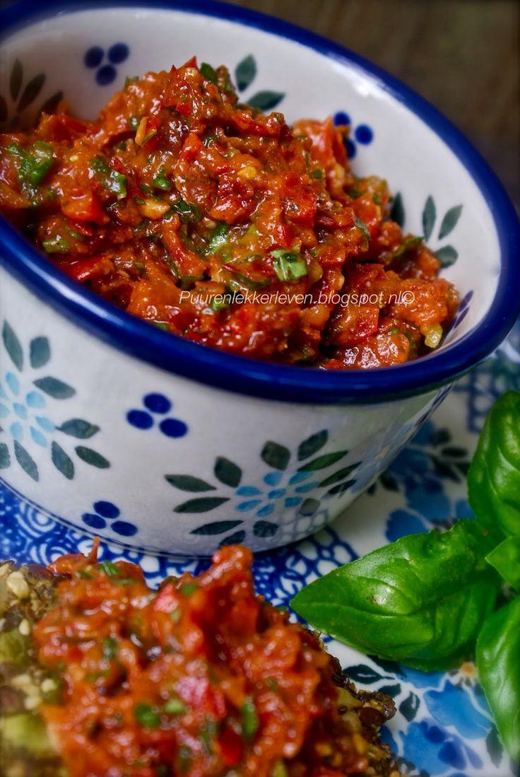 Puur & Lekker leven volgens Mandy: Tomaten Chutney (vegan)