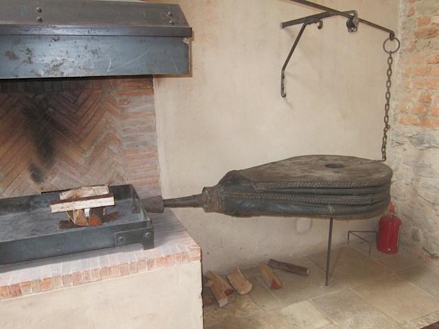 Lanes Ceramic klompies in herringbone at Babylonstoren wine estate