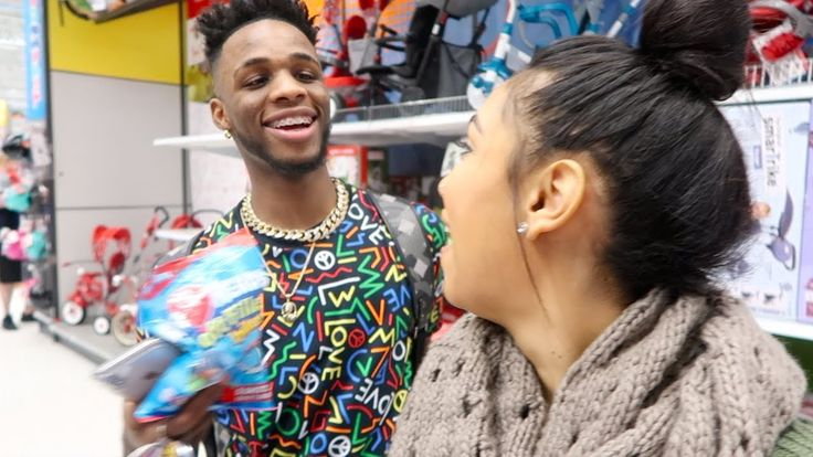 Giveaway on YouTube!!!---ACCIDENTALLY CALLED TREY BABY | CHRISTMAS SHOPPING FOR CJ