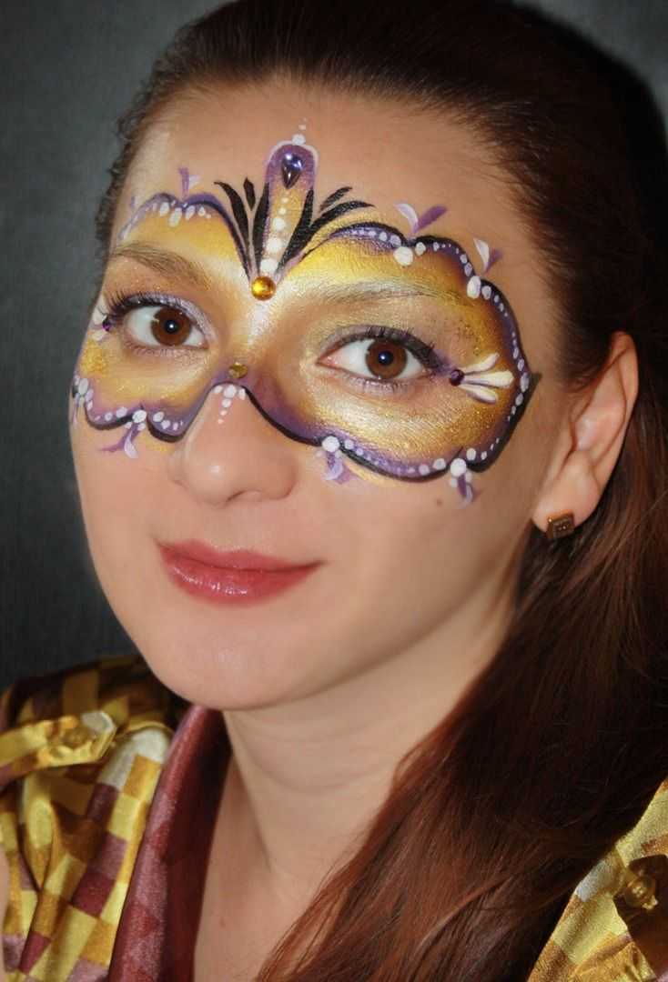9 best face painting ideas for adults images on pinterest | face