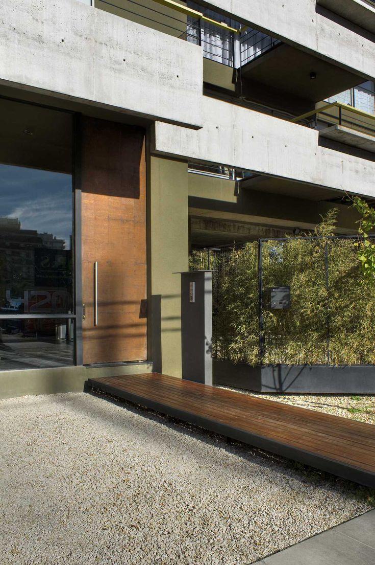 2do. Premio Categoría Vivienda Multifamiliar - Bienal 2009 Colegio de Arquitectos de la Provincia de Buenos Aires. Autor: Arq. Sebastián Cseh. Equipo de Proyecto: Juan Cruz Catania.