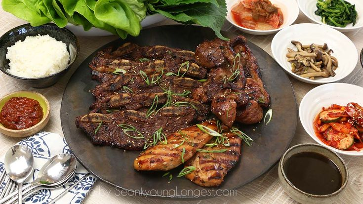 Hi guys!! Galbi (Kalbi) is Korean marinated rib BBQ. Mostly beef or pork ribs are used for this particular dish, but there is no rule what cut of meat you…