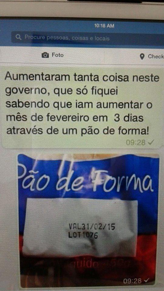 Post #FALASÉRIO! : ATENÇÃO !Aumentaram o mês de fevereiro !