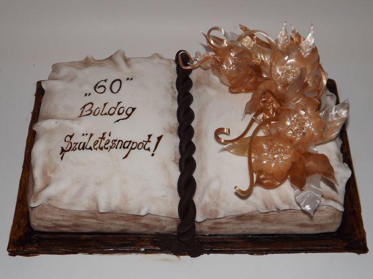 pulled sugar cake