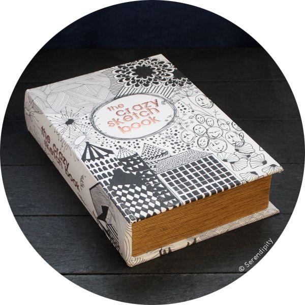 boîte 'my crazy sketch book' .:serendipity.fr:.