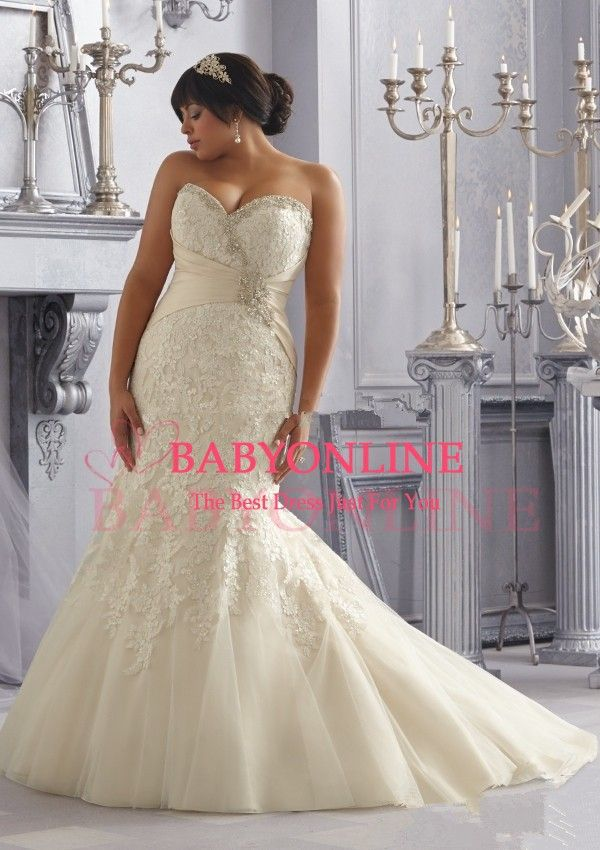 8 best Plus Size Wedding Dress images on Pinterest | Wedding ...
