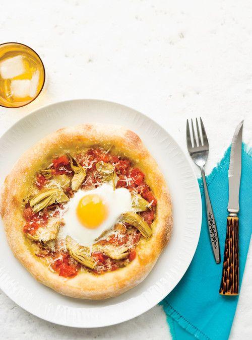 Pizza all'uovo Recettes   Ricardo