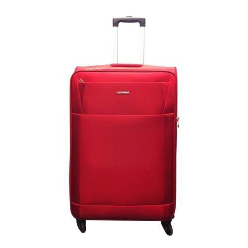 Compass-Pluto-66cm-Medium-4-Wheel-Suitcase-Luggage-Red