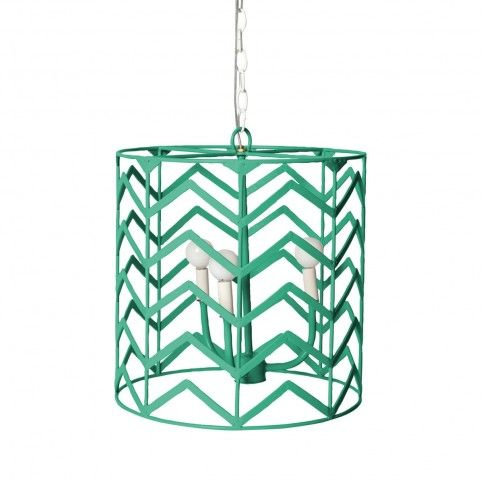 THE WELL APPOINTED HOUSE - Luxury Home Decor- Chevron Design Pendant