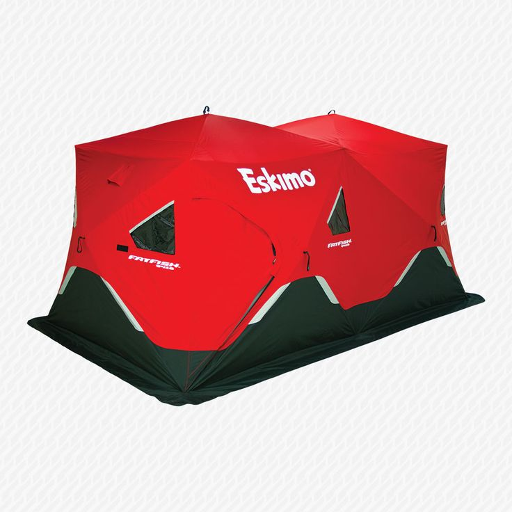 Eskimo - Ice Fishing Augers, Ice Fishing Shelters and Ice Fishing Gear: - FatFish 9416 Pop-Up Shelter