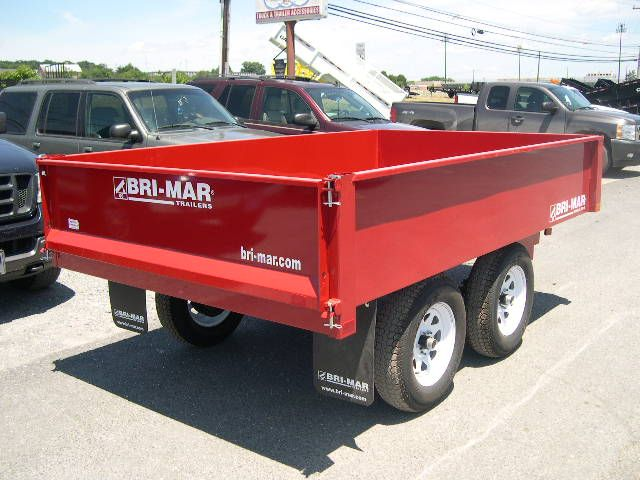 Bri Mar 6 X 10 Deckover Dump Truck Trailer For Sale In 2020 Dump Trailers Trailers For Sale Dumped